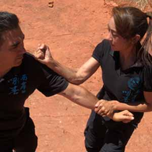 Wing Chun Training with Women