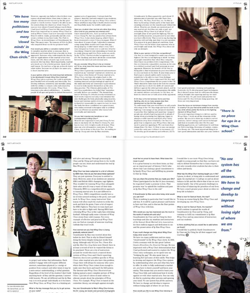 Grandmaster Samuel Kwok WIng Chun Illustrated