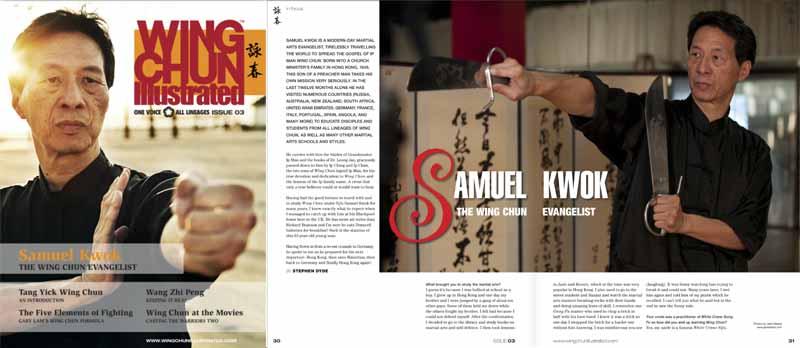 Grandmaster Samuel Kwok WCI Magazine